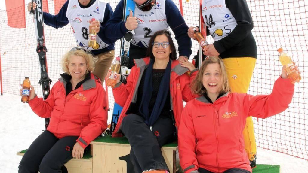 Beim diesjährigen Parlamentarier-Skirennen schafften es gleich vier Ehemalige auf das Podest.