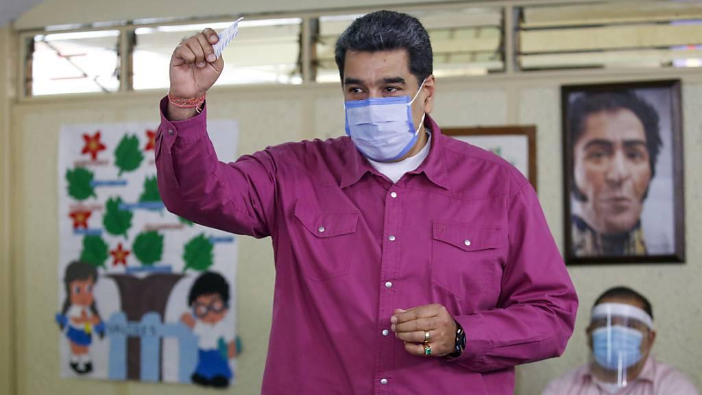 Opposition steuert auf Niederlage bei Parlamentswahl in Venezuela zu