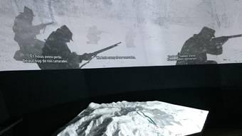 Historische Ausstellung zum Ersten Weltkrieg auf dem Hartmannswillerkopf