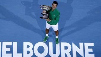 Novak Djokovic kann erst ab dem 8. Februar seinen Titel am Australian Open in Melbourne verteidigen