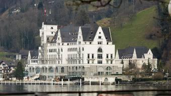 Seit gestern «Hotel des Jahres 2014»: Das Park Hotel in Vitznau. keystone