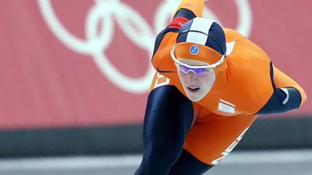 Irene Wüst holt für Holland bereits das zweite Eisschnelllauf-Gold.