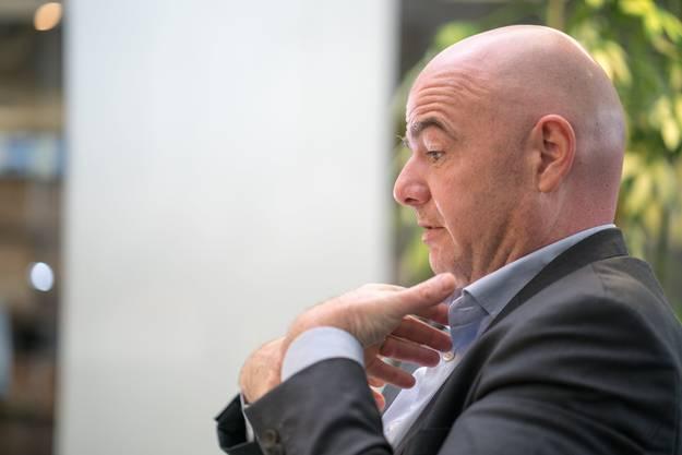 «Faktische Mitherrschaft» bei Strafverfahren der Bundesanwaltschaft: Gianni Infantino.