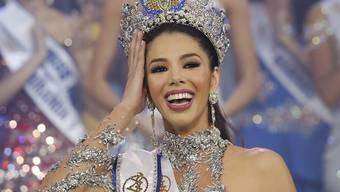 """""""Die Schönheit einer Frau ist nicht 90-60-90"""": Die 19-jährige Marketingstudentin Thalia Olvino wurde am Donnerstag zur neuen Miss Venezuela gekrönt."""