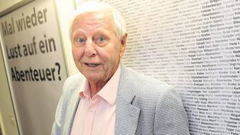 Hans Magnus Enzensberger verströmt im Literaturhaus eine heitere Gelassenheit