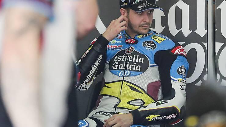 In Jerez im Sturzpech: MotoGP-Neuling Tom Lüthi