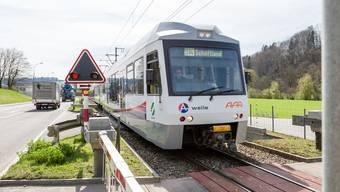 Am 21. und 22. Juli fahren zwischen Aarau und Schöftland keine WSB-Züge. Als Ersatz verkehren Busse.