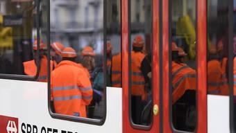 Fahrleitungsstörung: Der Bahnverkehr ist zwischen Rotkreuz und Cham auf der Linie Luzern - Zug unterbrochen. (Archivbild)
