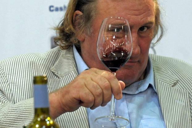 Weinliebhaber Depardieu wird ein Russe
