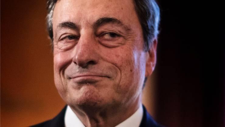 Mario Draghi: In Südeuropa gefeiert, im Norden kritisiert.