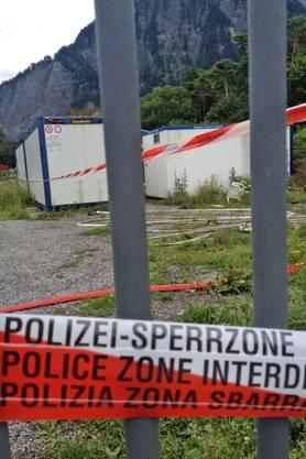 Brand in Landquart: Polizei geht von Brandstiftung aus.
