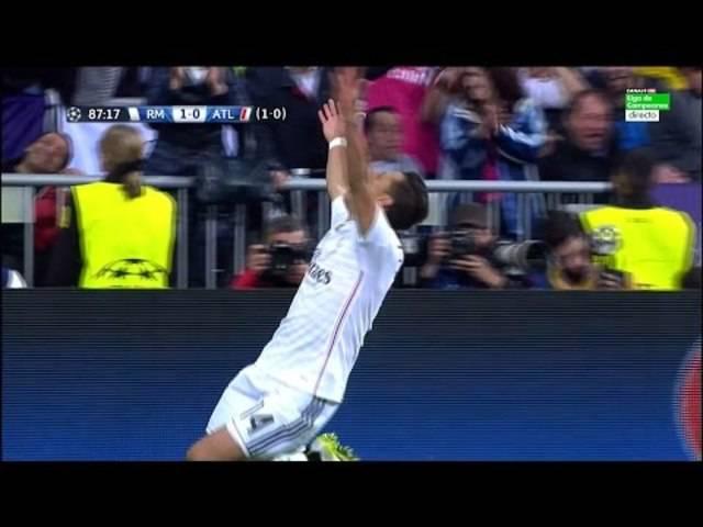 Chicharito erzielt den entscheidenden Treffer gegen Atletico Madrid