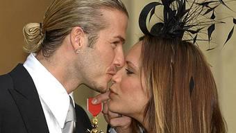 Beckham und seine Victoria (Archiv)