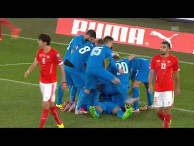 Schweiz - Slowenien 3:2