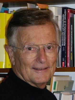 Markus Mohler war von 1979 bis 2001 Kommandant der Kantonspolizei Basel-Stadt.