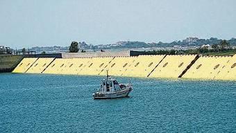 Venedig testet das Flutschutzsystem Mose.