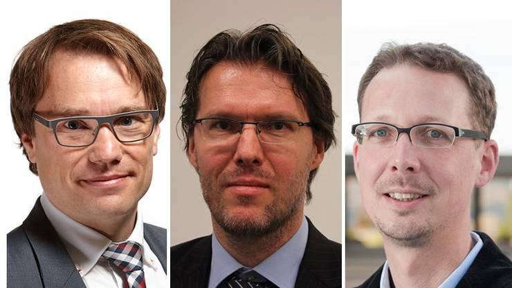 Die Politologen Lukas Golder, Uwe Serdült und Michael Hermann diskutieren über die Transparenz-Initiative und Methoden zur Parteifinanzierung.