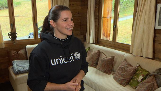 Ex-Skiprofi Tina Weirather ganz privat