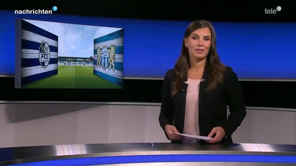 Testspiel FC Luzern gegen FC Zürich