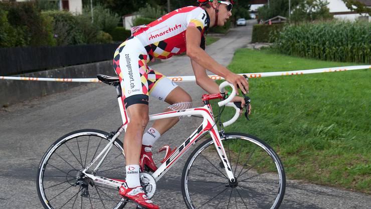 Manuel Stocker, der Sieger des GP Wiedlisbach