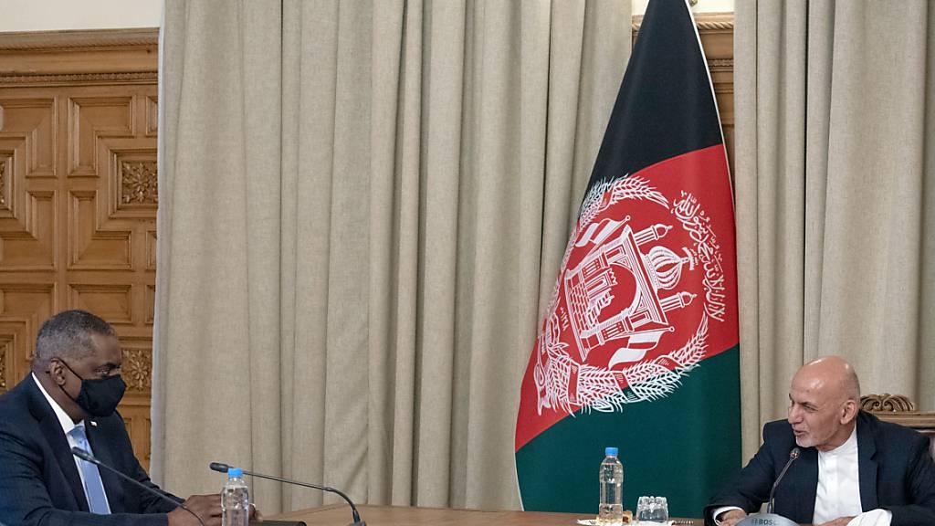 US-Verteidigungsminister Austin überraschend zu Besuch in Kabul