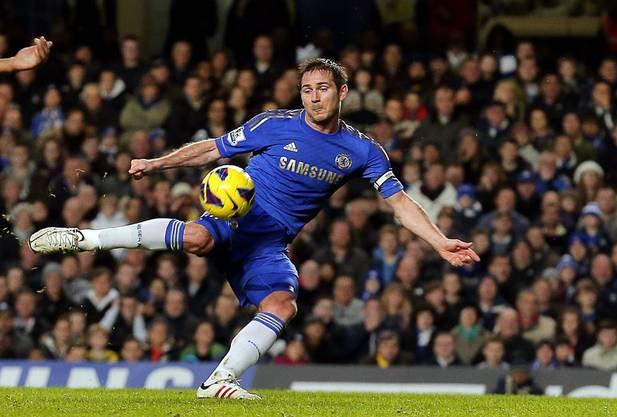 Nach zwei Minuten verhandle ich mit Frank Lampard.