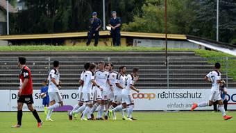 Saisonauftakt FC Aarau gegen FC Basel