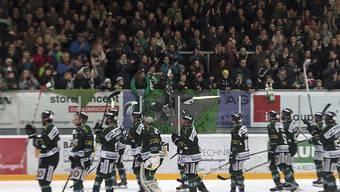 13. Sieg aus den letzten 15 Spielen: Der EHC Olten hat in der Swiss League derzeit einen guten Lauf (Archivbild)