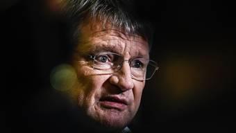 Wegen Wahlkampfhilfen aus der Schweiz unter Druck: Jörg Meuthen, Parteichef der rechtspopulistischen Alternative für Deutschland (AfD). (Archivbild)
