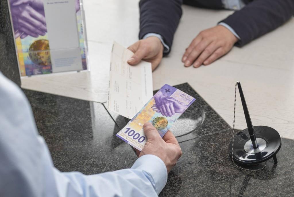 Schweizer Geldnoten