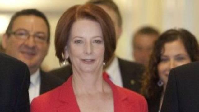 Australische Premieministerin Julia Gillard hat sich in ihrer Partei durchgesetzt.