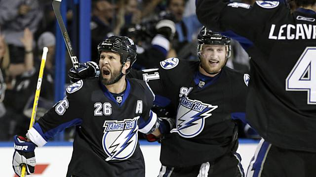 Jubel bei Tampa Bay Lightning