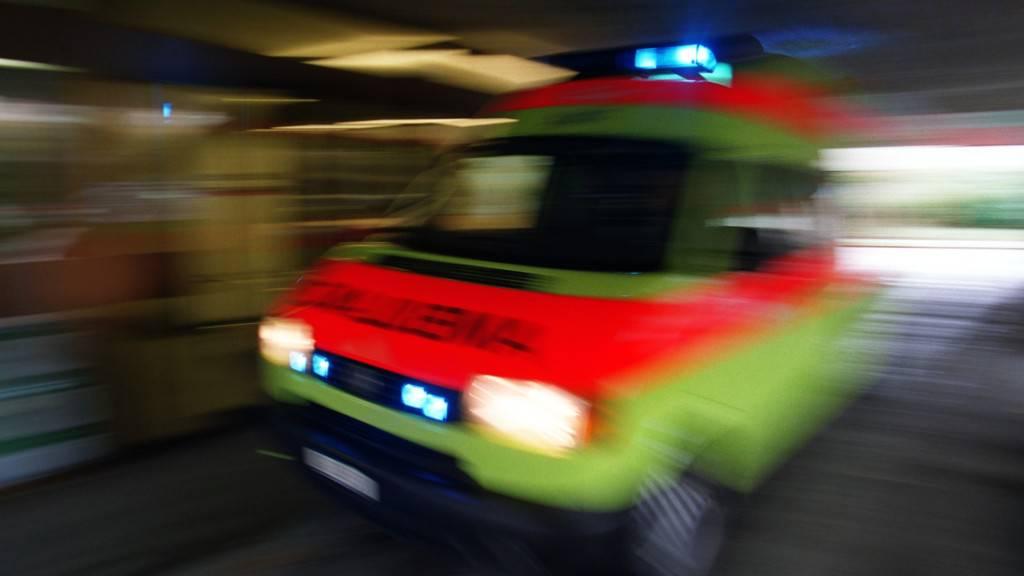Die fünf Familienmitglieder wurden von der Unfallstelle am Schluchsee (D) in mehrere umliegende Spitäler gebracht. (Symbolbild)