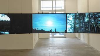 Eine Ausstellung im Haus für elektronische Künste.