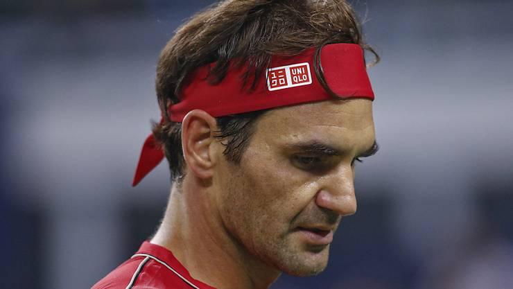 Was für ein Auftritt: Roger Federer brauchte am Eröffnungstag der Swiss Indoors nur gerade 52 Minuten, um in die 2. Runde einzuziehen