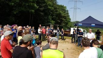 Info-Exkursion zur Rütihard im Zinggibrunn, Muttenz