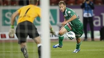 Nach diesem Fehlpass von FCZ-Goalie Da Costa auf Cavusevic fiel das 1:0 für die St. Galler