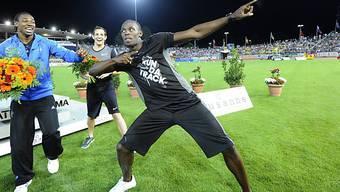 Usain Bolt wird sich auch im Letzigrund in Pose werfen.