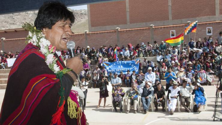 Will es doch noch einmal wissen: Boliviens Präsident Evo Morales bringt erneutes Referendum für eine verlängerte Amtszeit ins Spiel.