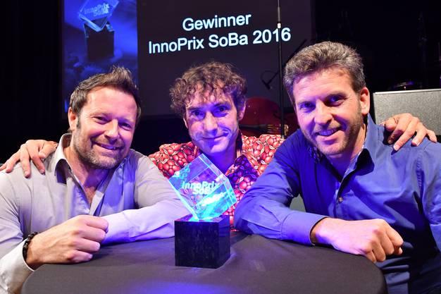 Die drei gründeten das Start-up Ticketfrog Anfang Juli 2016.