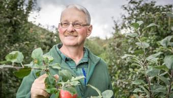 Meinrad Suter ist Apfelbauer aus Münzlishausen