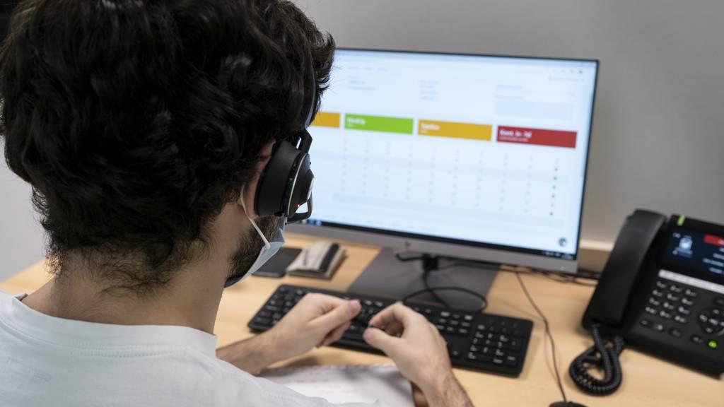 Quarantäne nur im gleichen Haushalt: St.Gallen passt Contact Tracing an