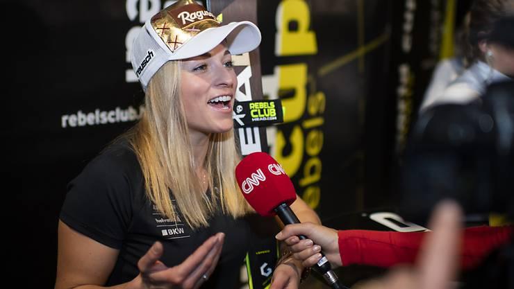 Lara Gut im Interview vor dem Weltcup-Auftakt in Sölden
