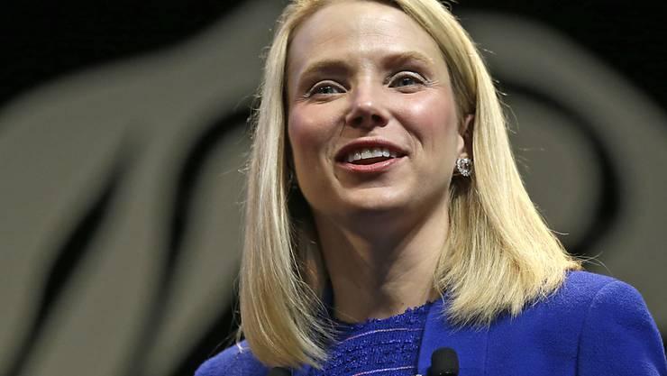 Konzern Yahoo im Umbruch, Chefin Mayer im Umbruch: Marissa Mayer ist erneut Mutter geworden (Archivbild).