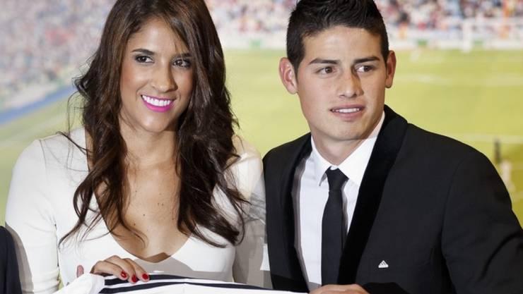 Bayern-München-Star James Rodríguez und seine Frau Daniela Ospina haben sich getrennt. (Archivbild)
