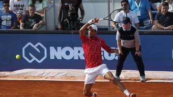 Novak Djokovic verzückt seine Fans