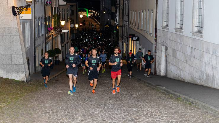 Rund 250 Personen liefen beim «Wake up and run» 2019 in Solothurn mit