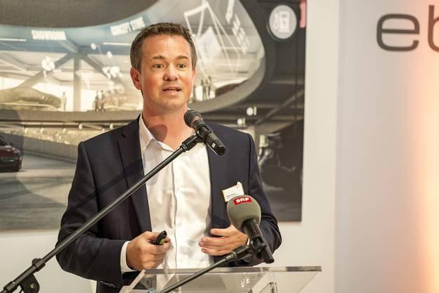 Tobias Andrist, des. CEO EBL.