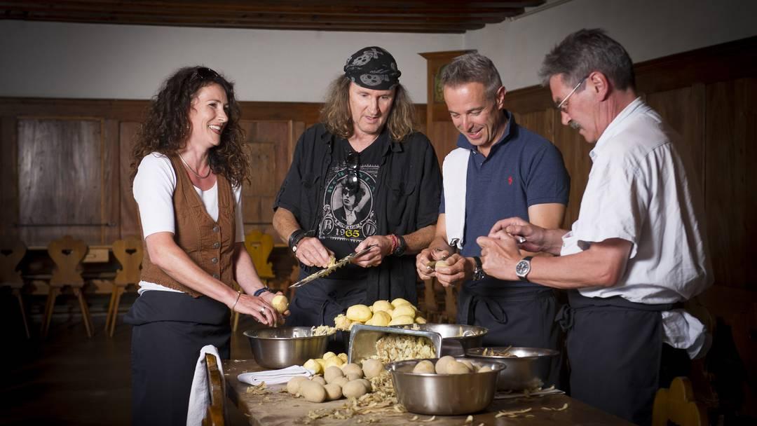 «Ässe für vier» – solidarischer Röschti-Anlass, neu im Solothurner Kapuzinerkloster