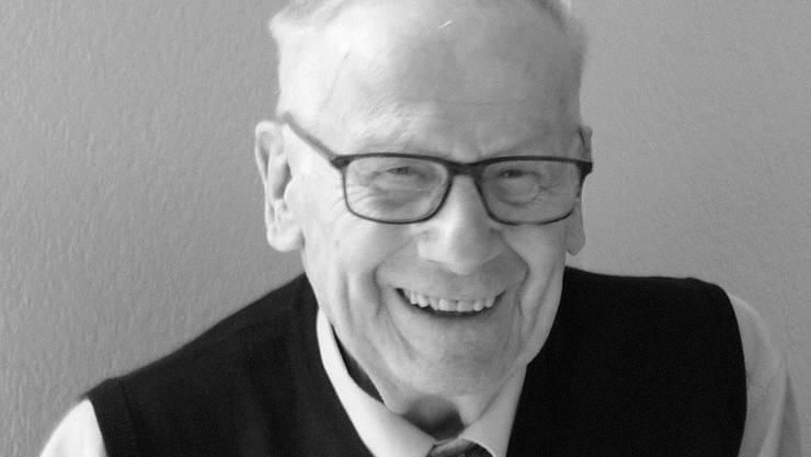 Kurt Walter ist im Alter von 92 Jahren verstorben.
